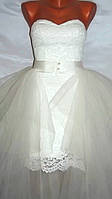 Свадебное платье- трансформер 05123