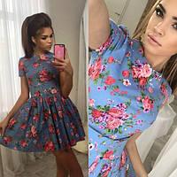 Платье женское цветное