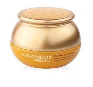 Омолаживающий крем с Коензим Q10 Bergamo Coenzyme Q10 Wrinkle Care Cream, 50 мл
