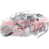 Детали кузова Ford Fusion Форд Фюжн 2013--