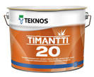 Полуматовая акрилатная краска Текнос ТИМАНТТИ (Teknos Timantti) 20, 9л