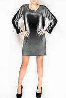 Платье в полоску с шипами - Sweewe