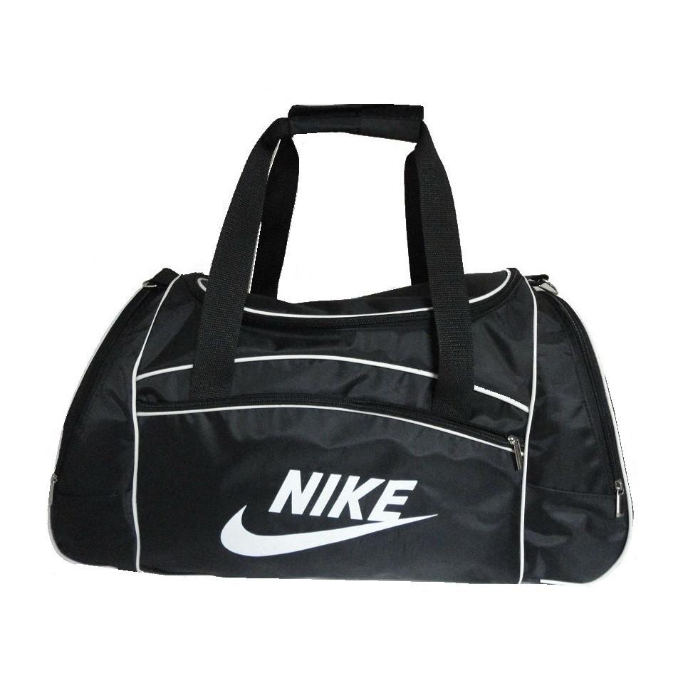 5f37e0eca1f9 Дорожно-спортивная сумка Nike реплика большая черная - купить по ...