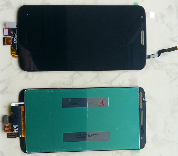 Дисплей модуль LG D800 D801 803 VS980 G2 в зборі з тачскріном, чорний
