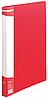 Папка A4 пласт с мет скоросшивателем и карманом BM.3407-01 (красн)