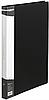 Папка A4 пласт з мет швидкозшивачем і кишенею BM.3407-01 (чорн)