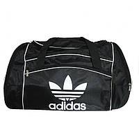 Дорожно-спортивная сумка Adidas большая черная, фото 1