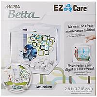 Аквариум д/петушка Betta Kit EZ Care 2.5L белый, фото 1