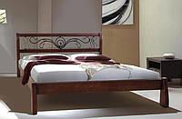 Кровать Ретро с ковкой ТМ Микс Мебель
