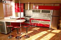 Кухни в современных стилях Модерн, Hi-tech