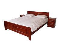 Кровать двуспальная деревянная Квадраты