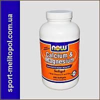 NOW Magnesium Caps 400 mg  180 капс.