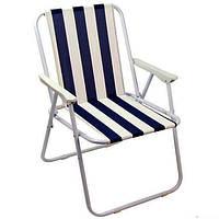 Стул складной со спинкой, раскладной стул для пикника YZ16001, фото 1