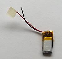 Литиевый элемент питания 041021 3,7V (фактический размер 04x10x21mm)  ёмкость производителем не указана