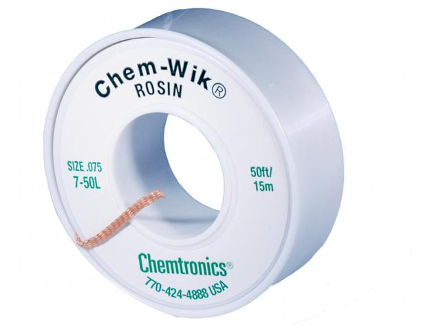 Распаивающая лента с флюсом  Chem-WIK HQ-WICK-L5 2мм/15м, фото 2
