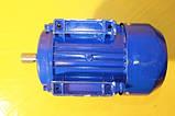 Електродвигун АЇР однофазний 63 В2, фото 6