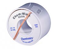 Распаивающая лента с флюсом  Chem-WIK HQ-WICK-LB 2.54мм/30м