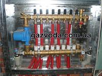 GIACOMINI Модульный коллекторный узел для систем отопления на 6 контуров Арт.R53