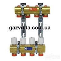 GIACOMINI Коллектор для систем отопления с лучевой разводкой на 4 контура Арт.R553FY002