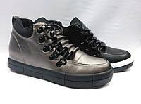 Ботиночки на толстой подошве со шнурками.В двух вариантах.