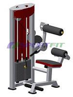 Тренажер разгибатель спины-брюшной пресс (комбинированный) Sport Fit (1242)