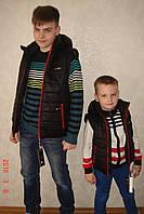 """Демисезонная куртка-трансформер Lutter """"Рейма"""" чёрный"""