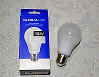 Лампа светодиодная GLOBAL LED, MAXUS, А75 10W Е27, яркий свет