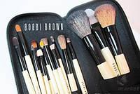 Кисти под макияж Bobbi Brown 15 шт в чехле Премиум Качество реплика