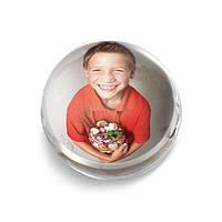 "Фоторамка ""FUTURE crystal photoholder"" d-6,5 см"
