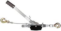 Рычажная тяговая лебедка, тяговое усилие 1т, передаточное число 18:1, подъем 3.6 м, вес 3кг  JET JCP-1.
