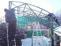 Металлические заборы из профнастила, сварка металлических ворот в Симферополе