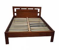 Кровать полуторная деревянная Рамка