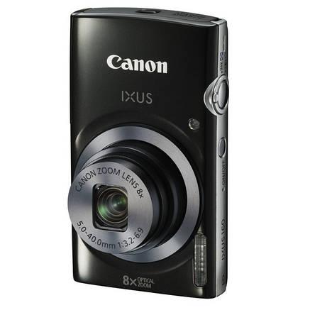 Фотоаппарат Canon Digital IXUS 160 Black, фото 2