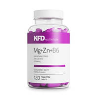 Купить витамины и минералы KFD ZMA Mg+Zn+B6, 120 tabl
