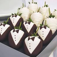 Свадебные фрукты смокинг