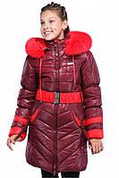 Зимнее пальто для девочек Дженни, размер 30-42