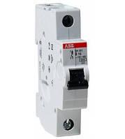 АВВ Автоматический выключатель  SH201-B50, тип B, 50А