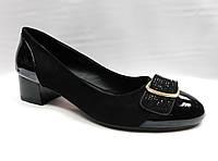 Туфли на низком каблуке . Большие размеры., фото 1