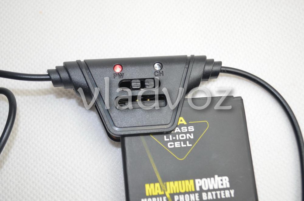 фото кабеля micro USB + универсальное зарядное 1,2м. макро