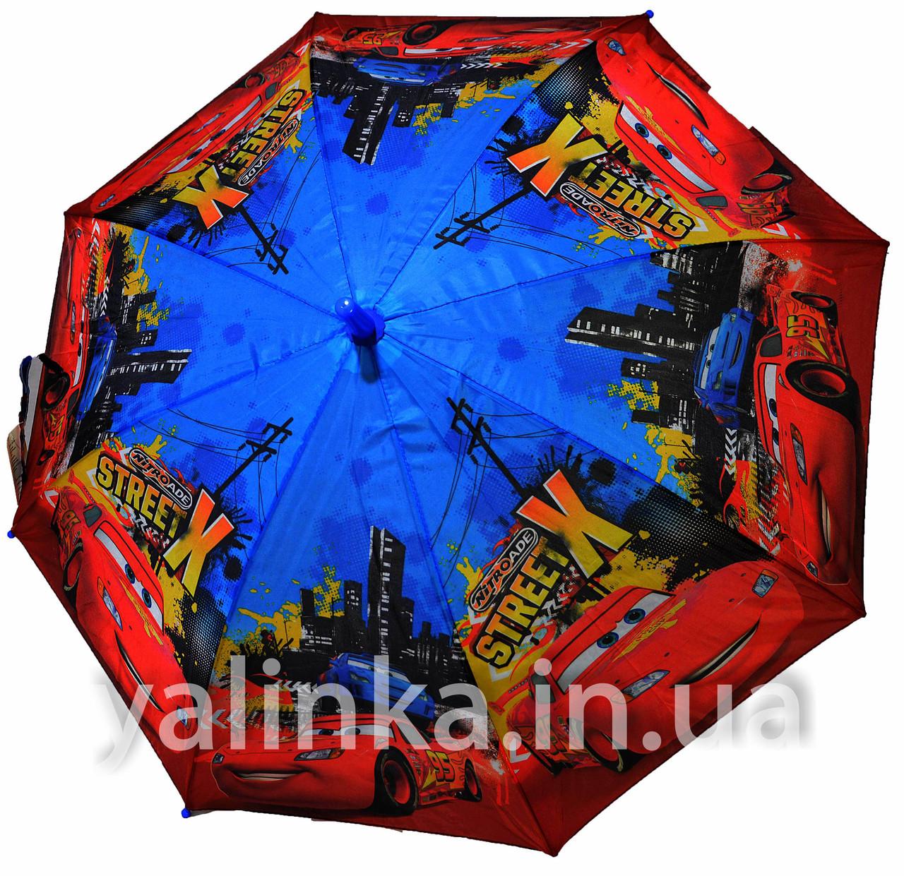 Зонт детский Тачки