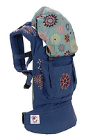 ERGObaby переноска рюкзак для детей Органик FASHION LINE Blue Starburst