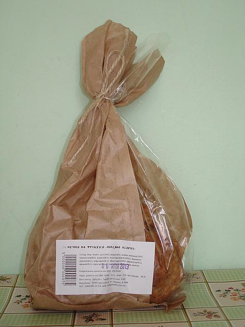 Печенье овсяное с сухофруктами, 200г.