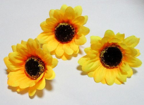 Голівка соняшника 7 см