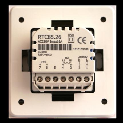 Механічний терморегулятор для теплої підлоги In-Term RTC 85, фото 2