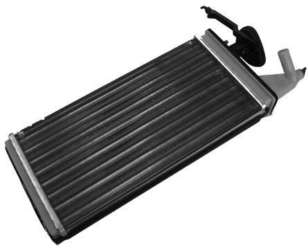 Радиатор печки Iveco 1989-1999 (310*158мм по сотах) KEMP