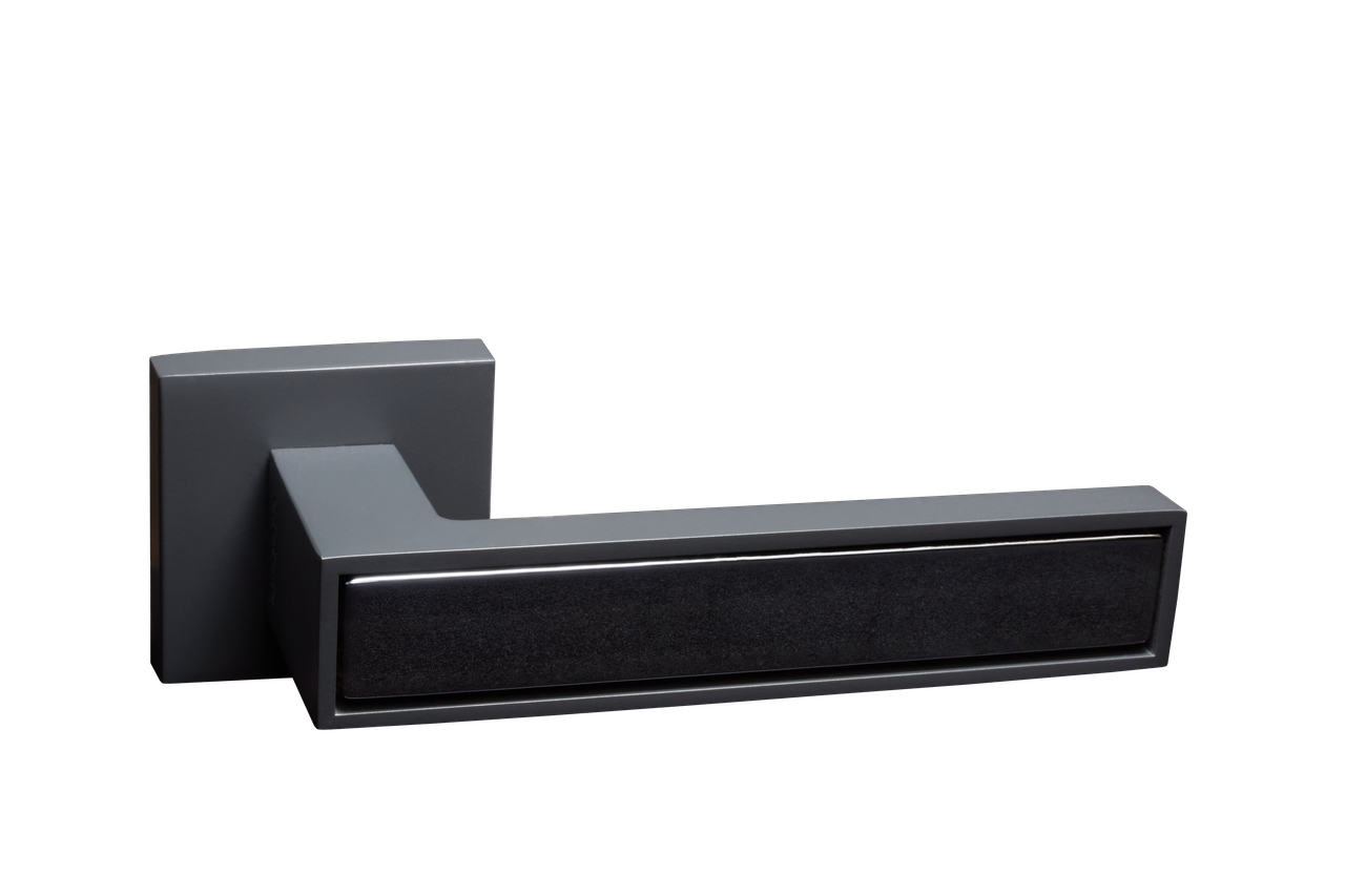 Дверная ручка 204-15E Prestige/New Grey (Anthracite)