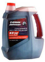 Масло Evinrude/Johnson XD-30 - для 2-х тактных подвесных двигателей 4л