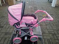 Коляска для куклы 9346 Melogo от 2 лет розовая***