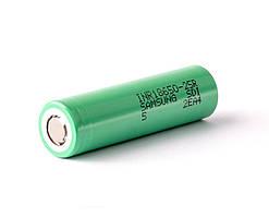 Аккумулятор Samsung INR18650-25R 2500mah (green, до 30А)