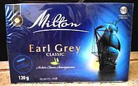 Чай Milton Earl Grey Classic в пакетиках 80 штук (Польша) Милтон